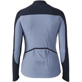 VOID Yoke LS Zip Women grey